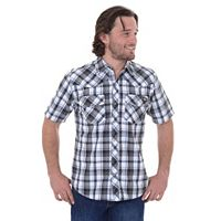 Dickies Plaid Western Button-Down Shirt - Men
