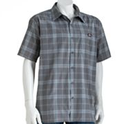 Dickies Plaid Button-Down Work Shirt - Men