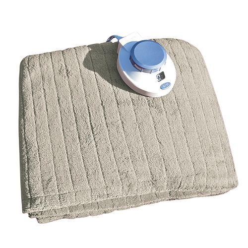 Soft Heat Plush Triple Rib Electric Throw