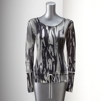 Simply Vera Vera Wang Watercolor Sweater