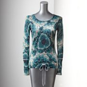 Simply Vera Vera Wang Floral Sweater