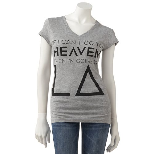 """Freeze """"If I Can't Go To Heaven Then I'm Going To LA"""" Tee"""