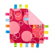 Taggies Little Taggies Pink Bubbles Blanket