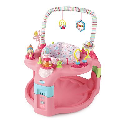 Bright Starts Pretty In Pink Entertain and Grow Saucer Activity Station