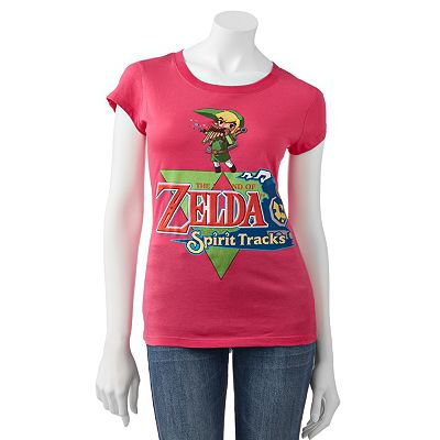 Freeze Zelda The Legend of Spirit Tracks Tee - Juniors