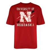 Nebraska Cornhuskers Warning Track Tee - Men