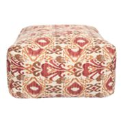 Artisan Weaver Afton Ikat Indoor Outdoor Pouf