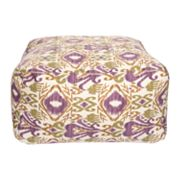 Artisan Weaver Ainsworth Ikat Indoor Outdoor Pouf