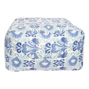 Artisan Weaver Akaska Ikat Indoor Outdoor Pouf