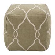 Artisan Weaver Bethel Lattice Pouf