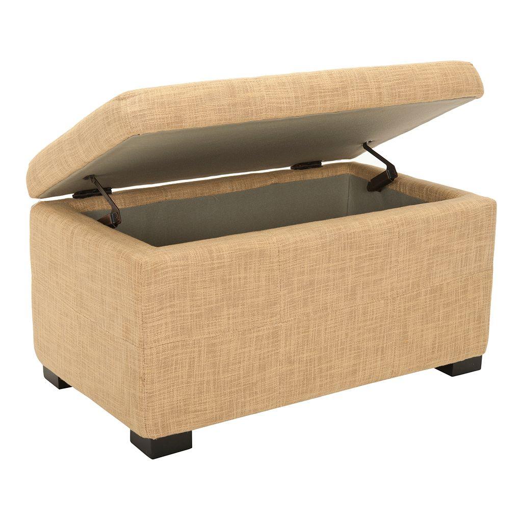 Safavieh Maiden Small Tufted Storage Bench
