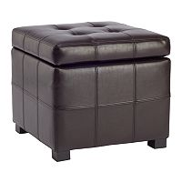 Safavieh Maiden Tufted Storage Ottoman
