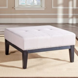 Safavieh Fulton Small Square Cocktail Ottoman