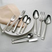 Oneida 53-pc. Amsterdam Flatware Set