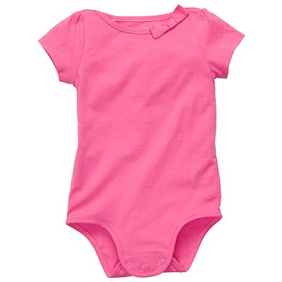 OshKosh B'gosh Solid Bow Bodysuit - Baby