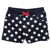 Jumping Beans Star Knit Shorts - Baby