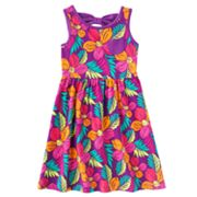 Jumping Beans Floral Bow-Back Dress - Girls 4-7