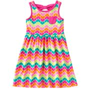 Jumping Beans Heart Bow-Back Dress - Girls 4-7