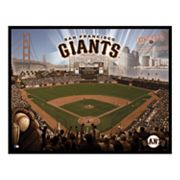 San Francisco Giants AT and T Park Wall Art