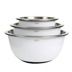 OXO Good Grips 3 pc Stainless Steel Mixing Bowl Set
