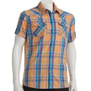 Urban Pipeline Plaid Western Shirt - Men