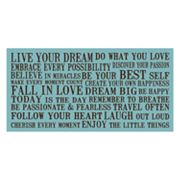 Live Your Dream Wall Art
