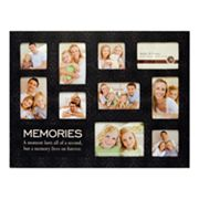 Memories 10-Opening Collage Frame
