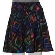 Lily Rose Abstract A-Line Skirt - Juniors