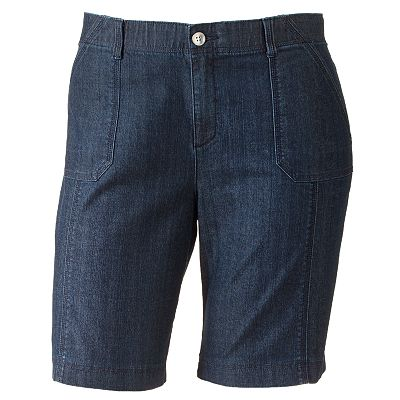 Lee Comfort Waist Denim Bermuda Shorts - Women's Plus