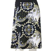 212 Collection Medallion Pull-On Skirt