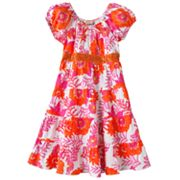 Speechless Floral Tiered Peasant Dress - Girls 7-16