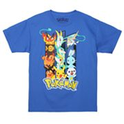 Pokemon Triple Threat Tee - Boys 8-20