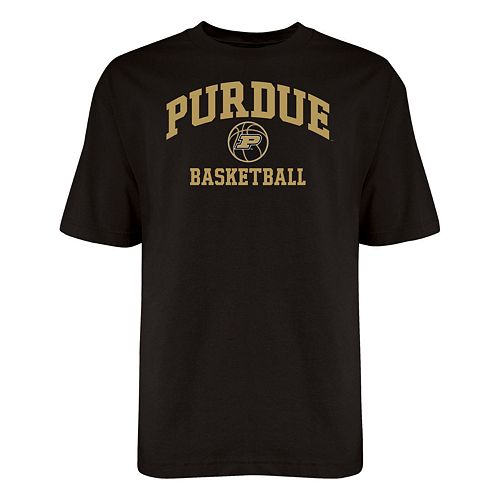 new arrival a28a5 b9393 Purdue Boilermakers Old School Basketball Tee - Men