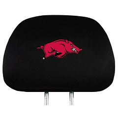 Arkansas Razorbacks Head Rest Covers