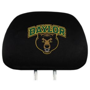 Baylor Bears Head Rest Covers