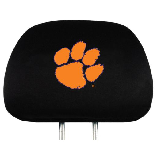Clemson Tigers Head Rest Covers
