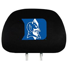 Duke Blue Devils Head Rest Covers