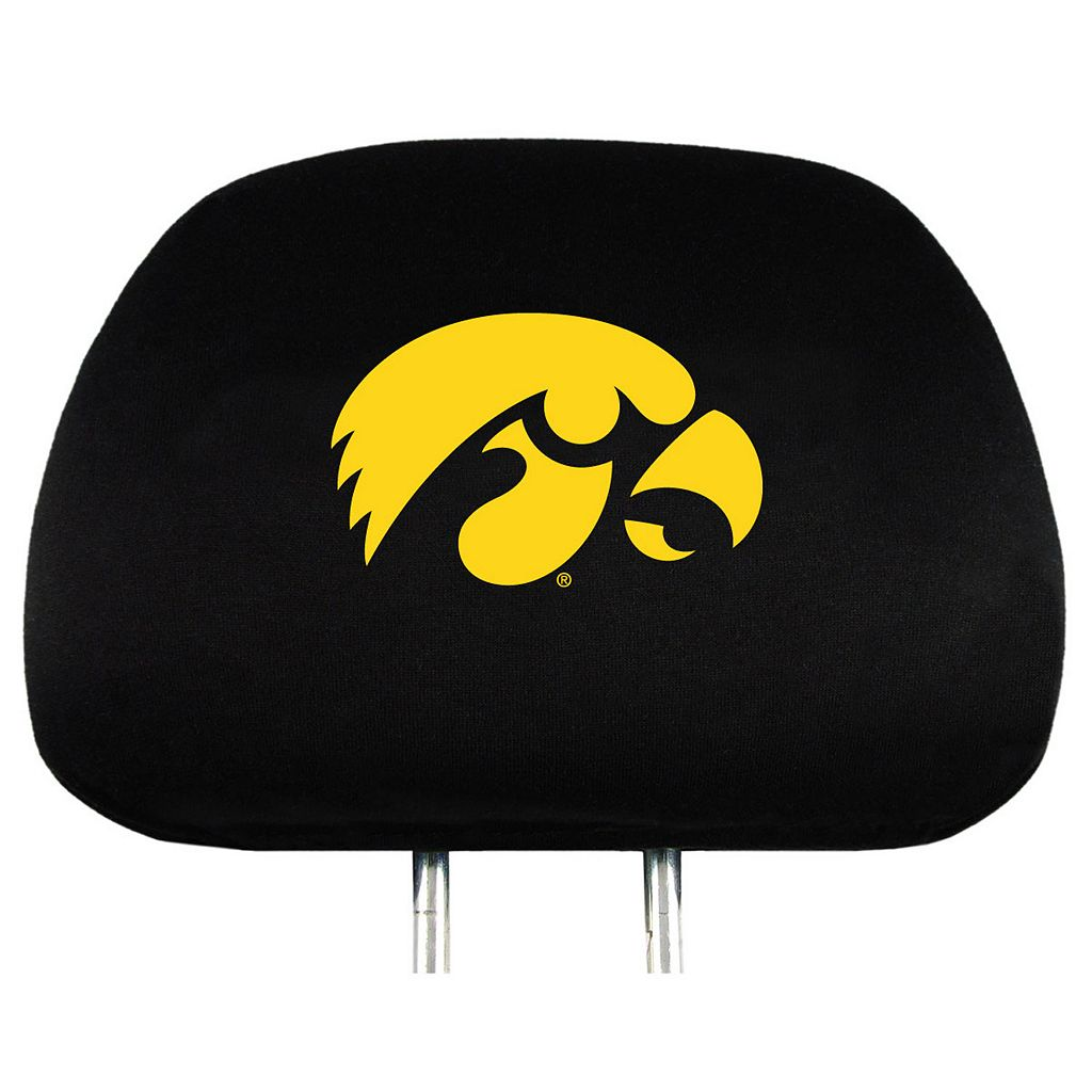 Iowa Hawkeyes Head Rest Covers
