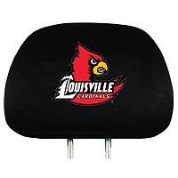 Louisville Cardinals Head Rest Covers