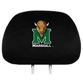 Marshall Thundering Herd Head Rest Covers