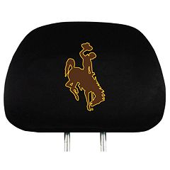 Wyoming Cowboys Head Rest Covers
