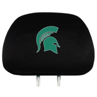 Michigan State Spartans Head Rest Covers