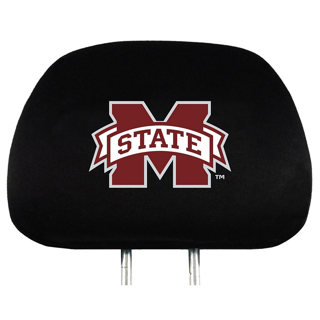 Mississippi State Bulldogs Head Rest Covers