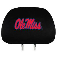 Ole Miss Rebels Head Rest Covers