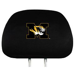 Missouri Tigers Head Rest Covers