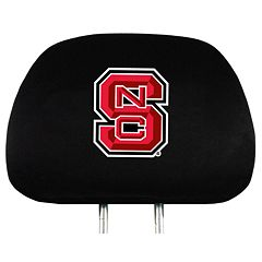 North Carolina State Wolfpack Head Rest Covers
