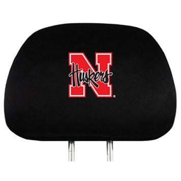 Nebraska Cornhuskers Head Rest Covers
