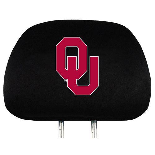 Oklahoma Sooners Head Rest Covers