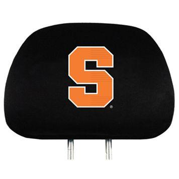Syracuse Orange Head Rest Covers