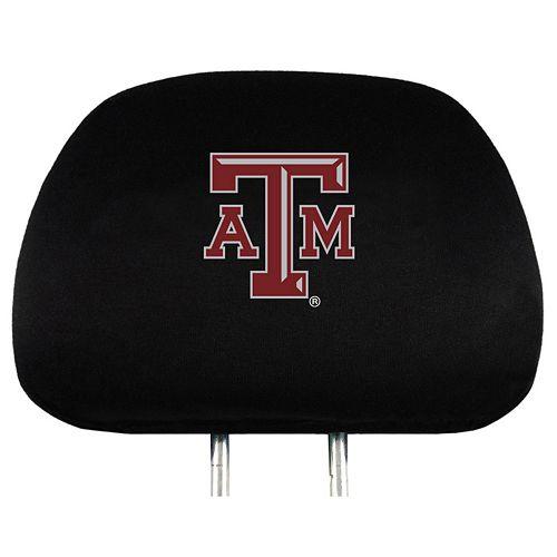 Texas A&M Aggies Head Rest Covers